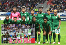 Super Falcons, Super Eagles, Nike Jersey, FIFA 2018 World Cup