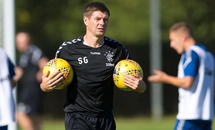 Steven Gerrard, Rangers FC,