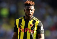 Watford striker, Isaac Success