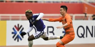 Ha Noi striker Ganiyu Bolajo Oseni