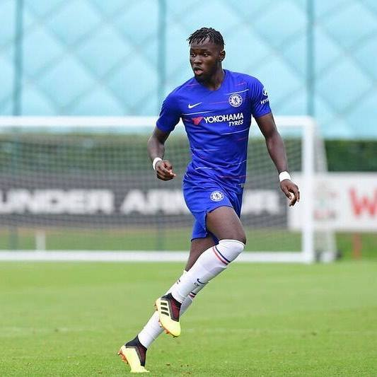 Dynel Simeu Signs A New deal with Premier League Side Chelsea - Latest  football news in Nigeria