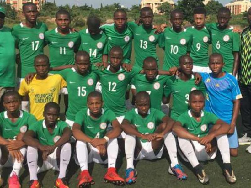 Nigeria U16s Camp In Sagamu For Japan Tourney Latest Football News In Nigeria