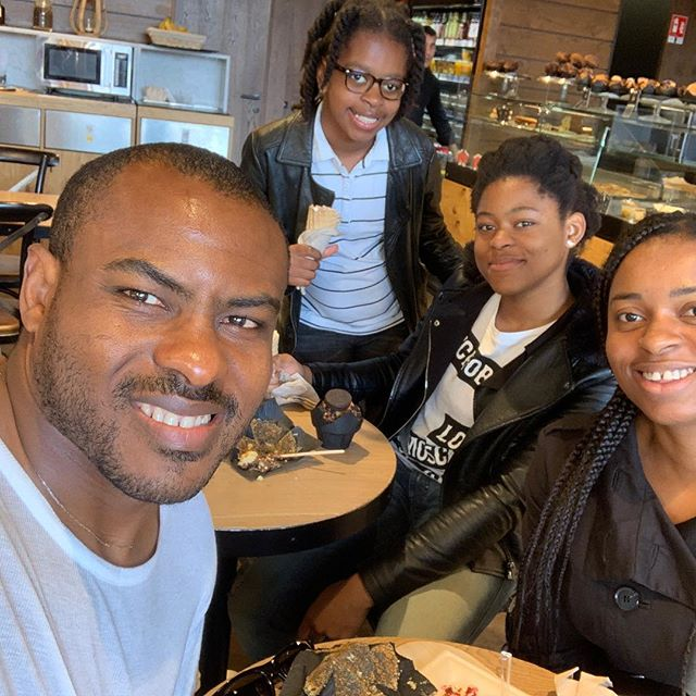 Vincent Enyeama Releases Adorable Photo Lunching With His Family And Calls Them