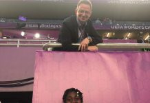 Asisat Oshoala Celebrates Her Agent And Team In A New Photo