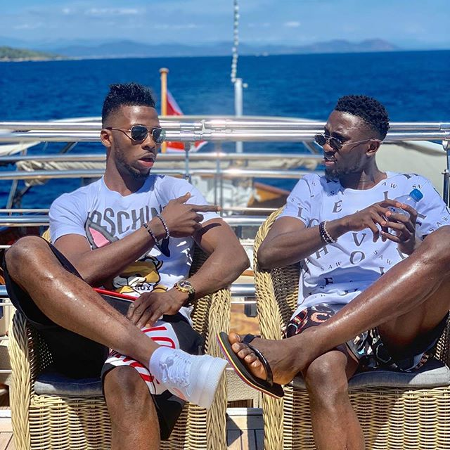 Kelechi Iheanancho Flaunt His Expensive Boat With Wilfred Ndidi And Calls His Lifestyle