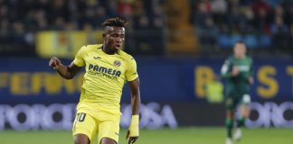 AM STILL A VILLAREAL PLAYER FOR NOW. SAMUEL CHUKWUEZE