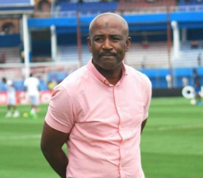 Enyimba coach Usman Abdalla