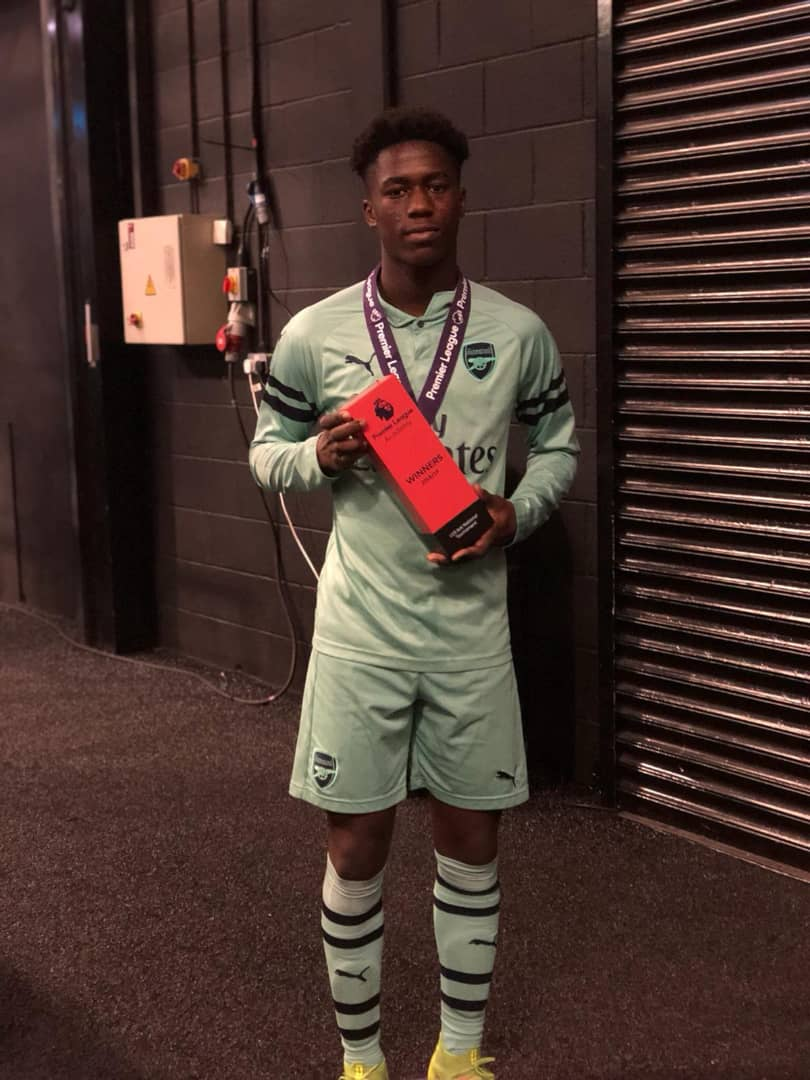 Image result for malcolm ebiowei arsenal
