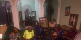 Pinnick Amaju Visits Late Solomon Ogbede Family In Benin