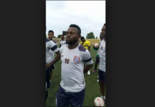 Captain of Akwa united FC Oto-obong Effiong
