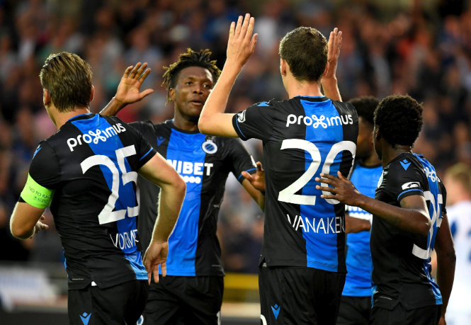 in Okereke Can t Stop Scoring Seals Win For Club Brugge Vs Kortrijk Latest Football News In Nigeria