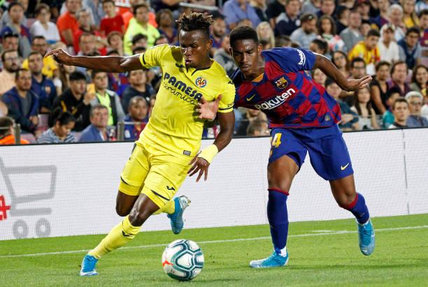 Chuckwueze's Villarreal Narrowly Edged By Barcelona In Camp Nuo