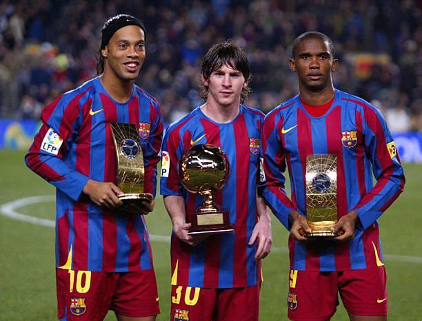 Ronaldinho: Messi the best of his time, not all time